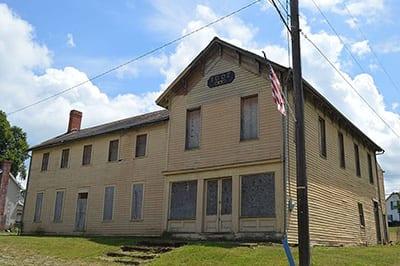 IOOF Building in Gratiot, Ohio