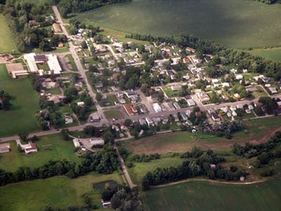 Satellite image of Kirkersville, Ohio