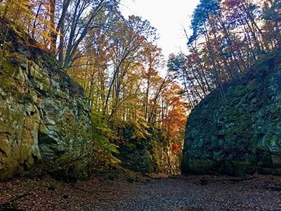 Black Hand Gorge, Nashport, Licking County, Ohio