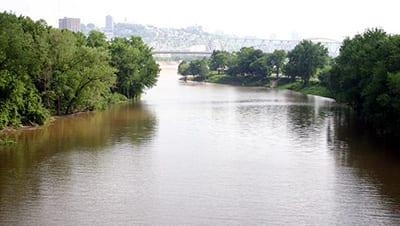 Licking River near Saint Louisville, Ohio